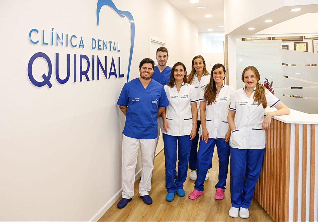 Equipo profesional de Clínica Dental Quirinal en Avilés, Asturias