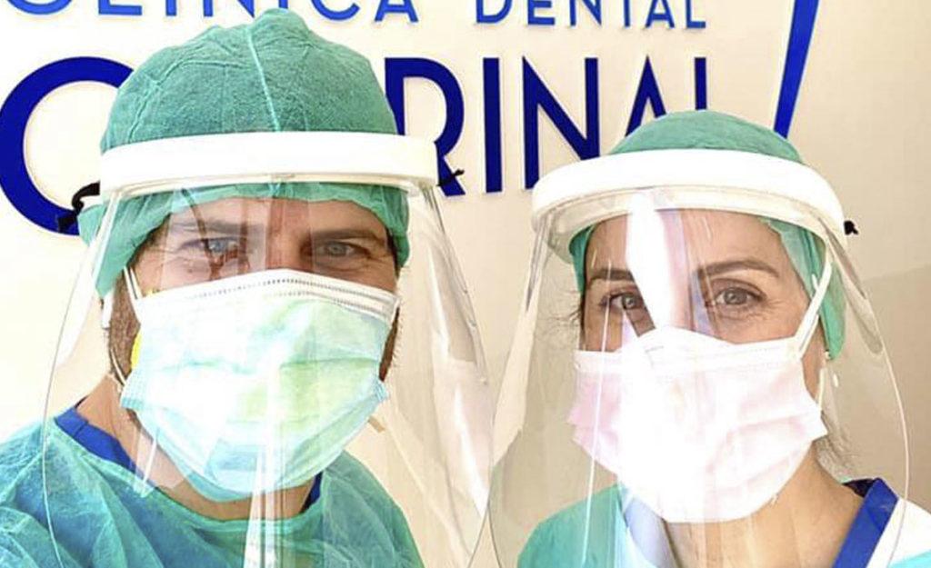 Clinica dental Quirinal Avilés abrimos de nuevo Covid-19 equipados con epis